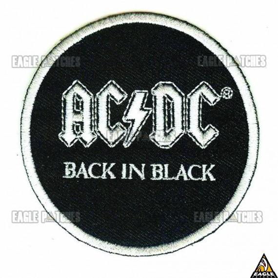 Patch  Bordados AC DC - Back in Black