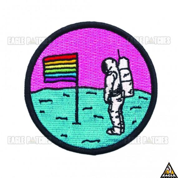 Patch Bordado Bandeira da Lua LGBTQ+