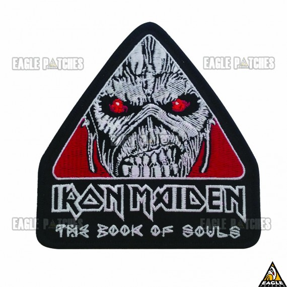 Patch Bordado Iron Maiden - The Book of Souls