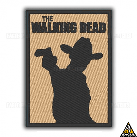 Patch bordado The Walking Dead - Rick Grimes