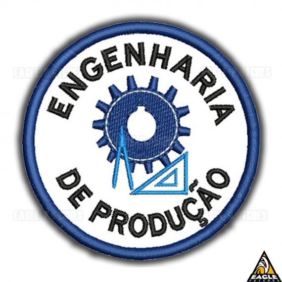 Patch Bordado Profissões - Engenharia de Produção