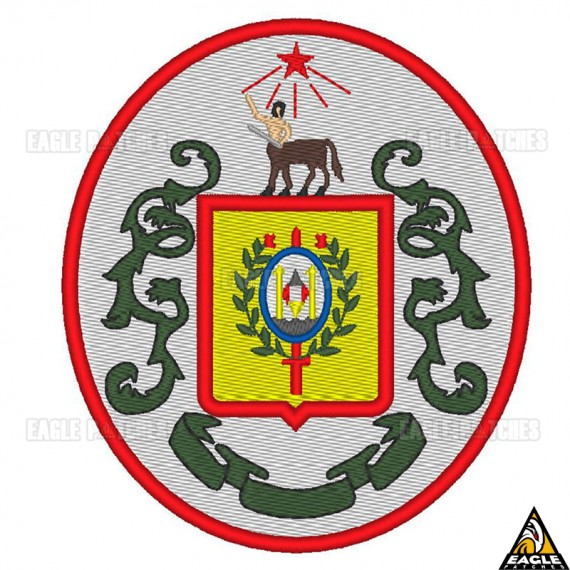 Patch Bordado Brasão Polícia Militar - SP