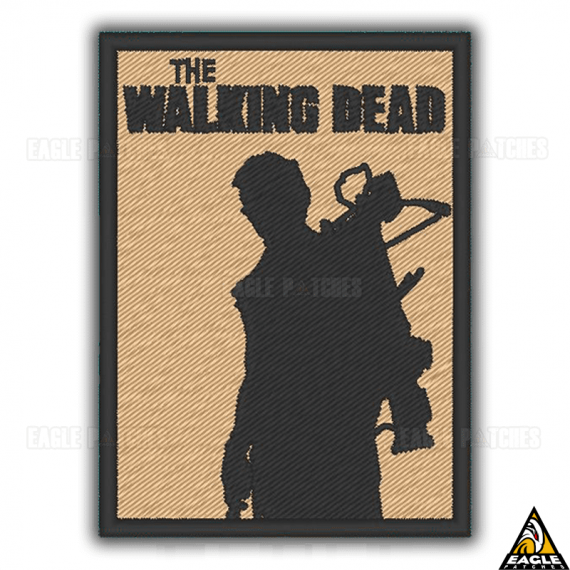 Patch Bordado The Walking Dead Daryl Dixon