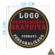 Kit Basico Motociclista - Patches Personalizados para colete com Programação GRATUITA