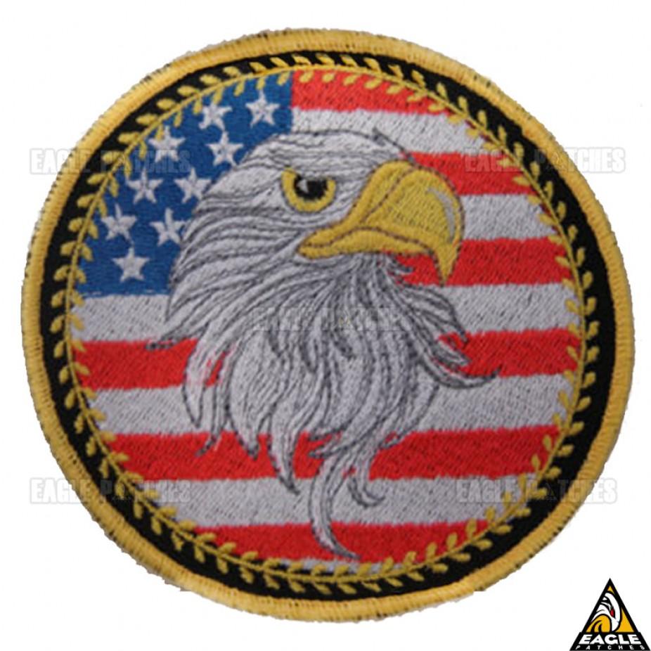 Patch Bordado Águia Americana 85d4f145327b8