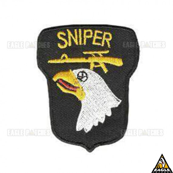 Patch bordado Aguia Sniper