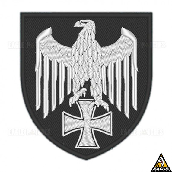 Patch Bordado Águia Wehrmacht