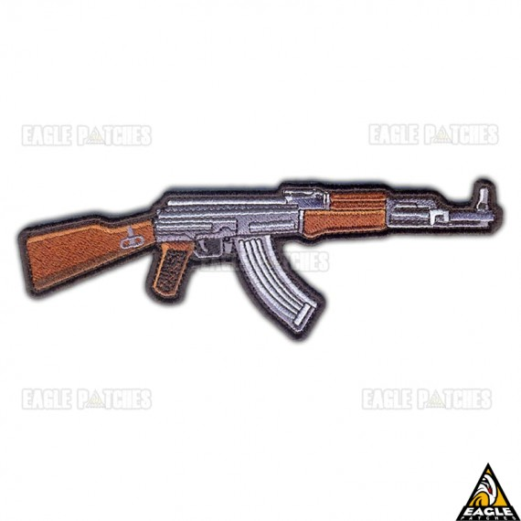 Patch Bordado Ak-47