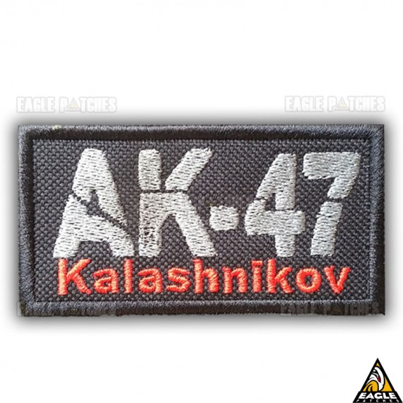 Patch Bordado AK-47 Kalashnikov