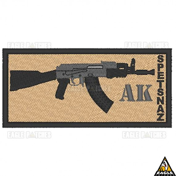 Patch Bordado AK Spetsnaz