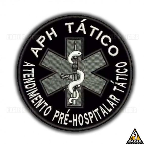 Patch Bordado APH Tático - Atendimento Pré Hospitalar