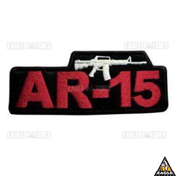 Patch bordado AR-15