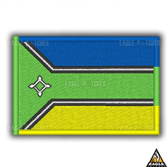 Patch Bordado Bandeira Amapa
