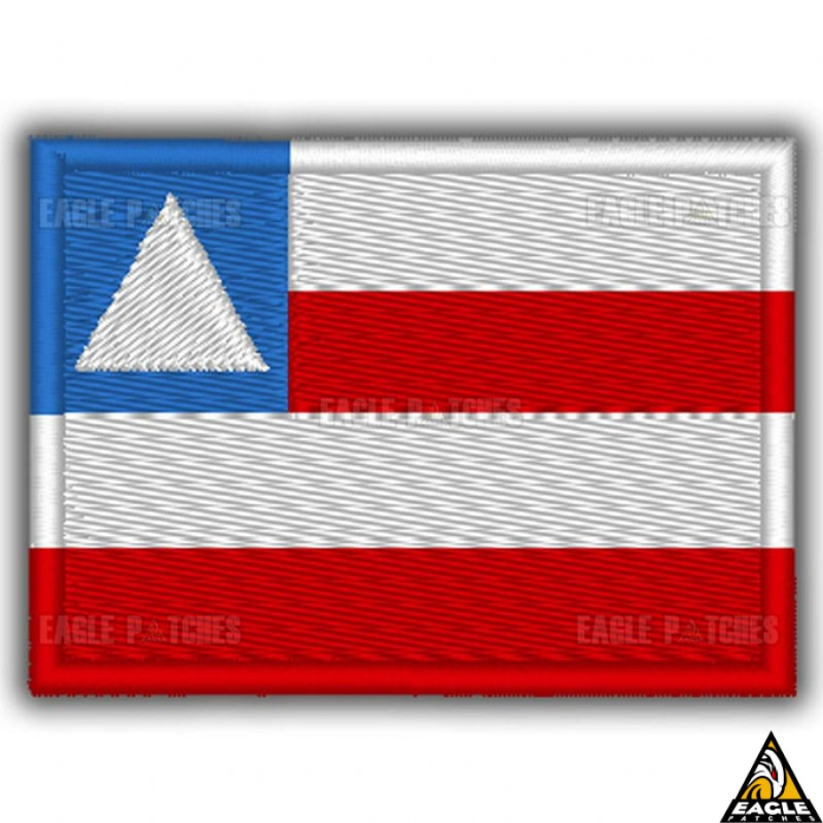 11b04e55c3780 Patch Bordado Bandeira da Bahia