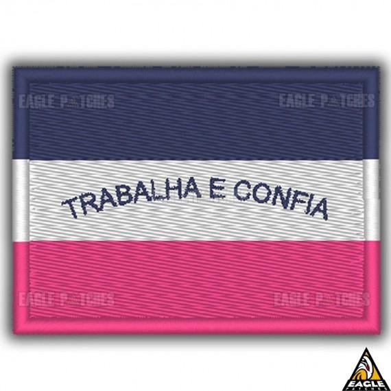 Patch Bordado Bandeira de Espírito Santo