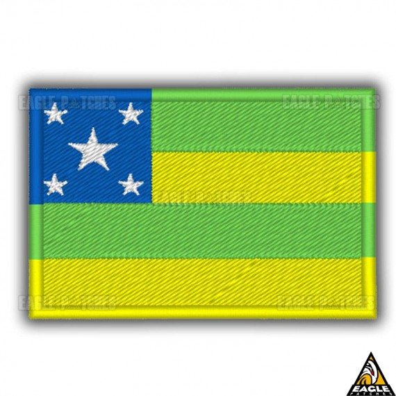 Patch Bordado Bandeira de Sergipe