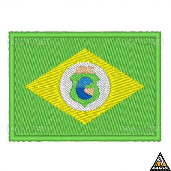 Patch Bordado Bandeira de Ceará