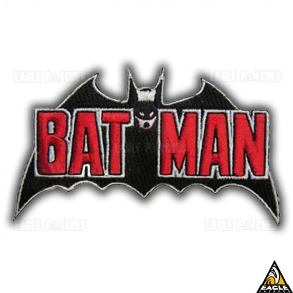 Patch Bordado Batman