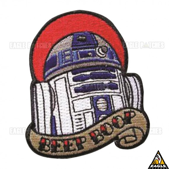 Patch Bordado BEEP BOOP Star Wars