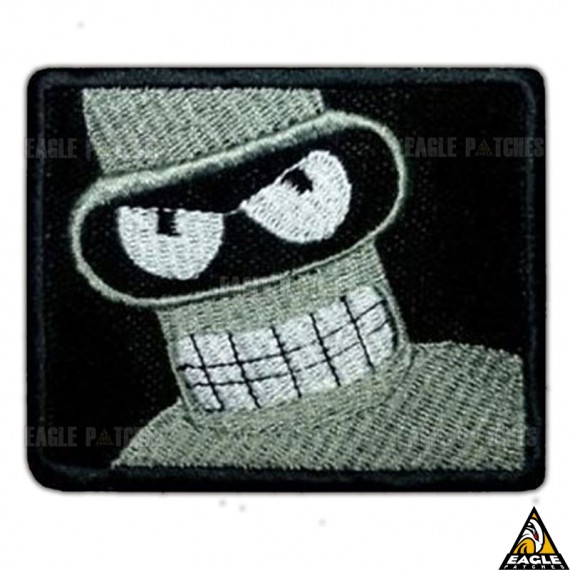 Patch Bordado Bender