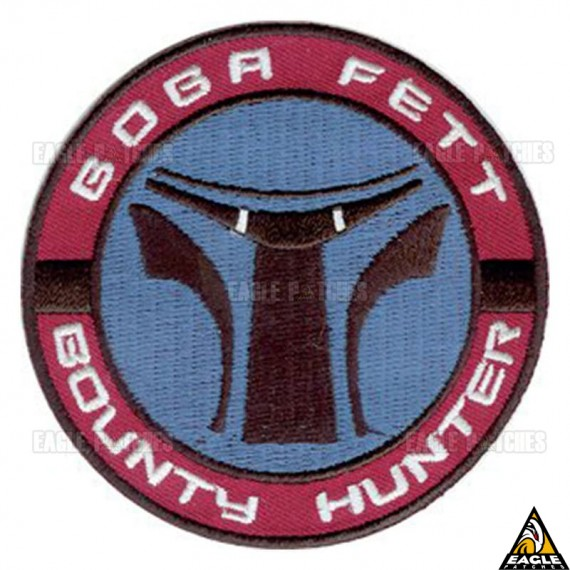 Patch Bordado Boba Fett Star Wars