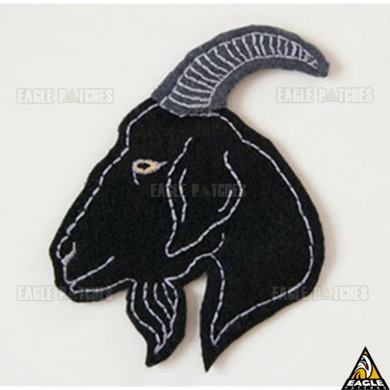 Patch Bordado Bode - goat