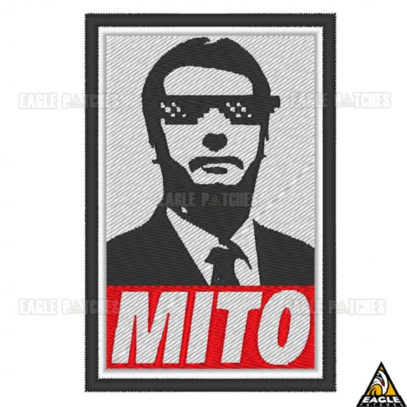Patch Bordado Bolsonaro - Mito