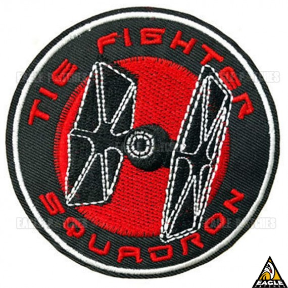Patch Bordado Caça TIE Star Wars