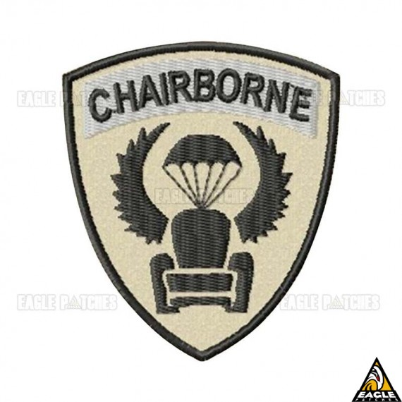 Patch Bordado Chairborne