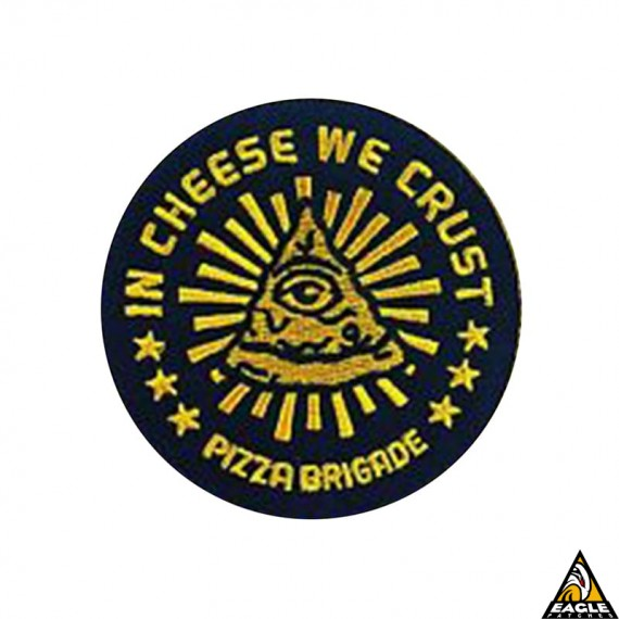 Patch Bordado Chesse we crust