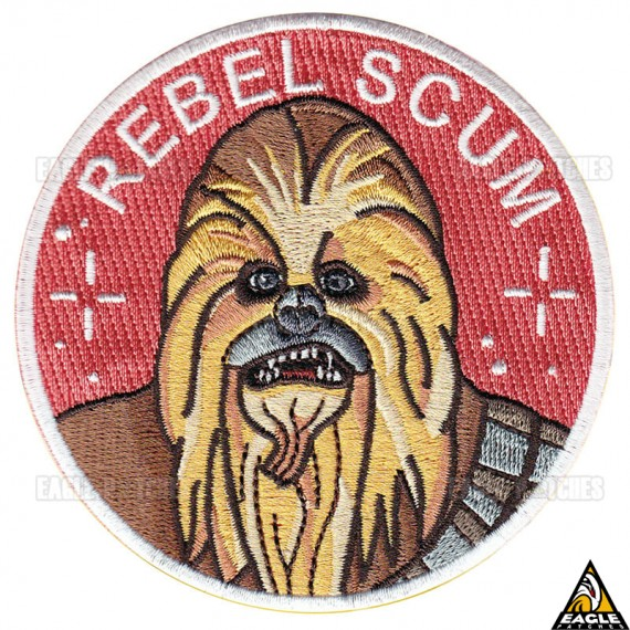 Patch Bordado Chewbacca Rebel Scum Star Wars