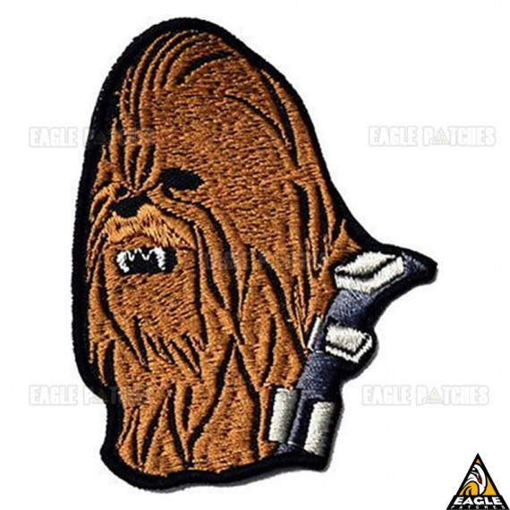 Patch Bordado Chewbacca Star Wars