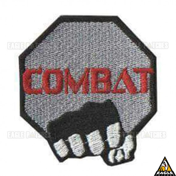 Patch bordado Combat