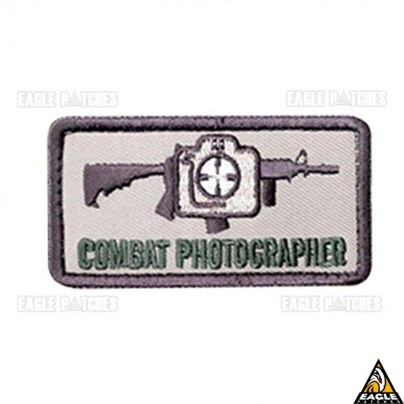 Patch Bordado Combat Photographer