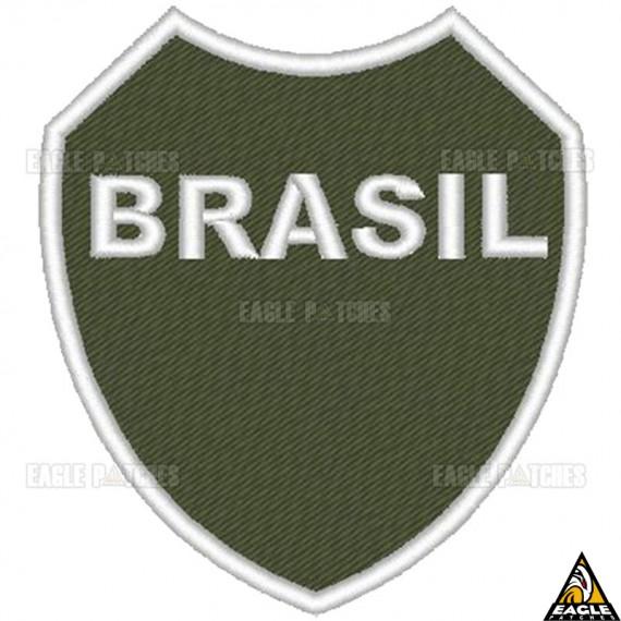 Patch Bordado Coração do Brasil - FEB