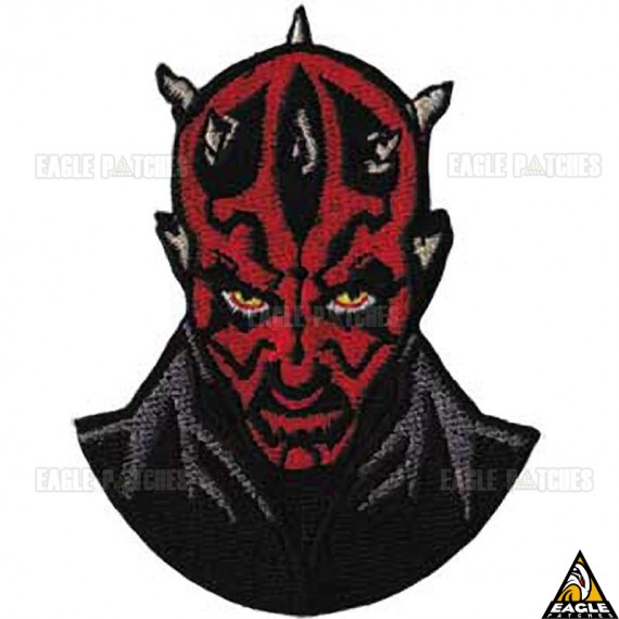 Patch Bordado Darth Maul Star Wars