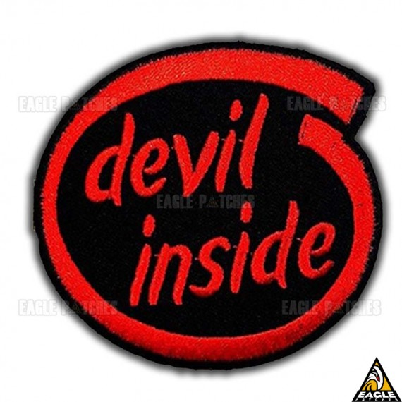 Patch Bordado Devil Inside