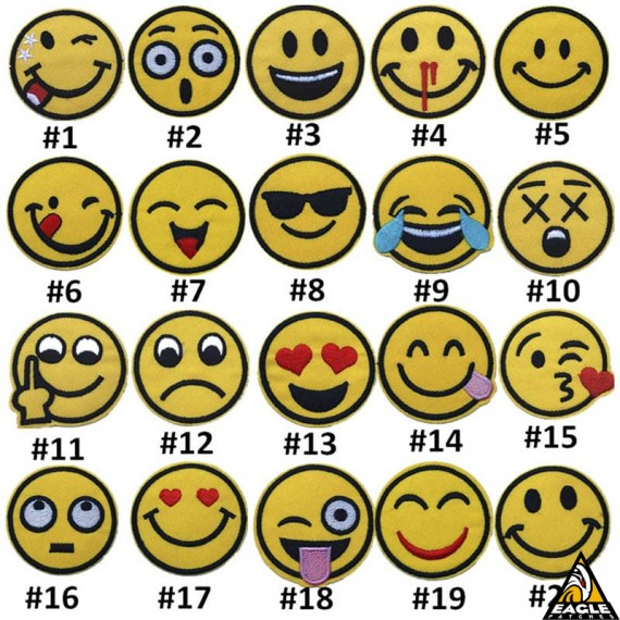 Patch Bordado Emojis