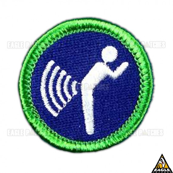 Patch Bordado Fart Signal