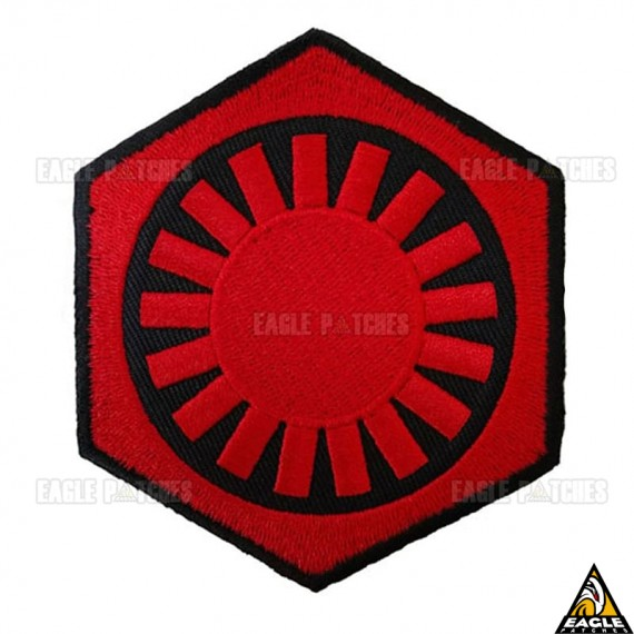 Patch Bordado First Order symbol Star Wars