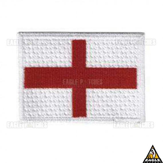 Patch Bordado Flag England Red Cross