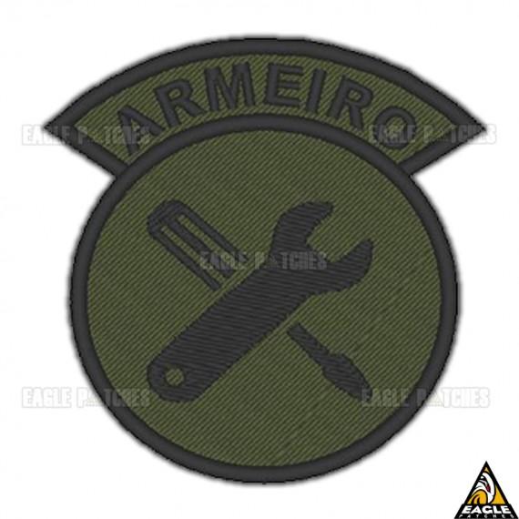 Patch Bordado Função Armeiro