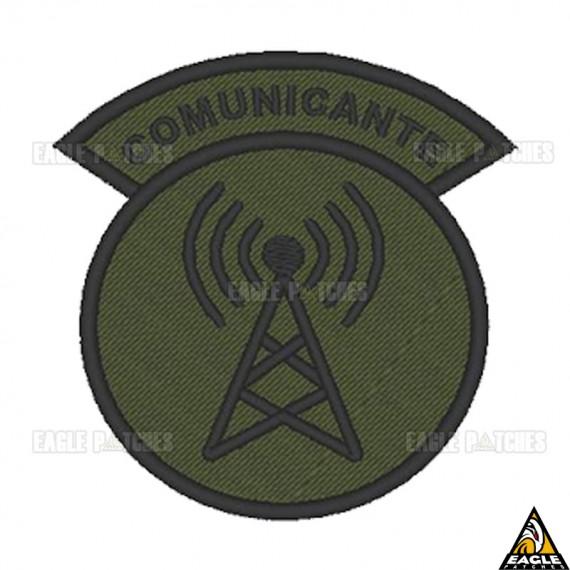 Patch bordado Função Comunicante