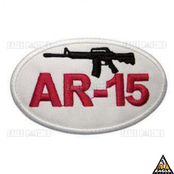 Patch bordado Fuzil AR-15