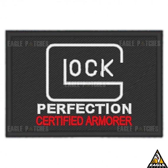 Patch Bordado Glock - Certified Armorer