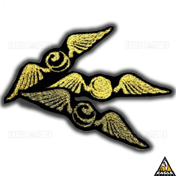 Patch Bordado Harry Potter Bombo de Ouro