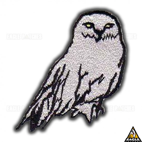 Patch Bordado Harry Potter Coruja