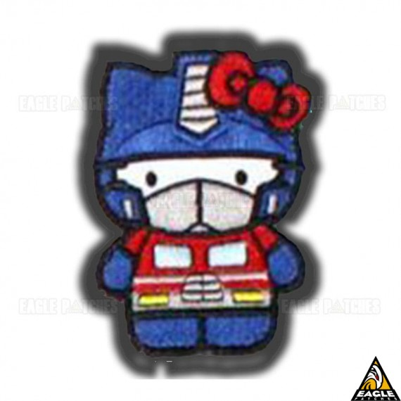 Patch Bordado Hello Kitty - Transformers