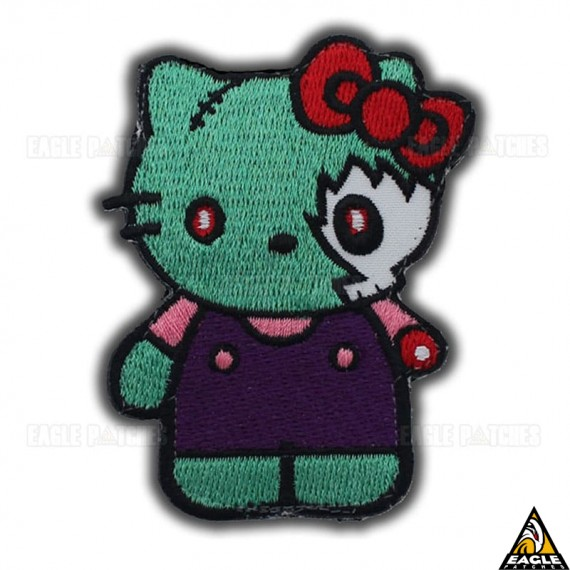 Patch Bordado Hello Kitty - Zombie
