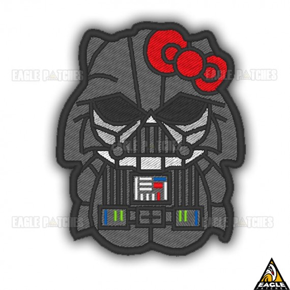 Patch Bordado Hello Kitty Dart Vader